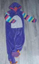 Chlupatý overal kačka na spaní i karneval,