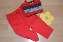 Komplet kalhotek a svetříku, vel. 74/80, f&f,74