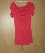 Červené tričko s vodou amisu, amisu,m