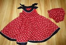 Srdíčkové šaty a kalhotky, marks & spencer,86
