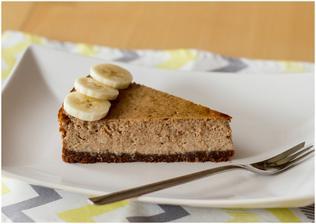 Čokoládový cheesecake s banány