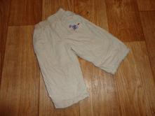 Kalhoty podšité 6-9 měsíců, 74