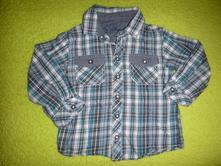 Košile s džínovými kapsami 92/98, matalan,92