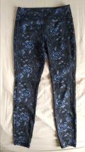 Květované kalhoty na cvičení/ legíny, m