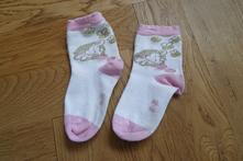 F190dívčí bavlněné ponožky slůně vel. 23-26, 23