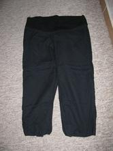 Třičtvrteční plátěné kalhoty, 38