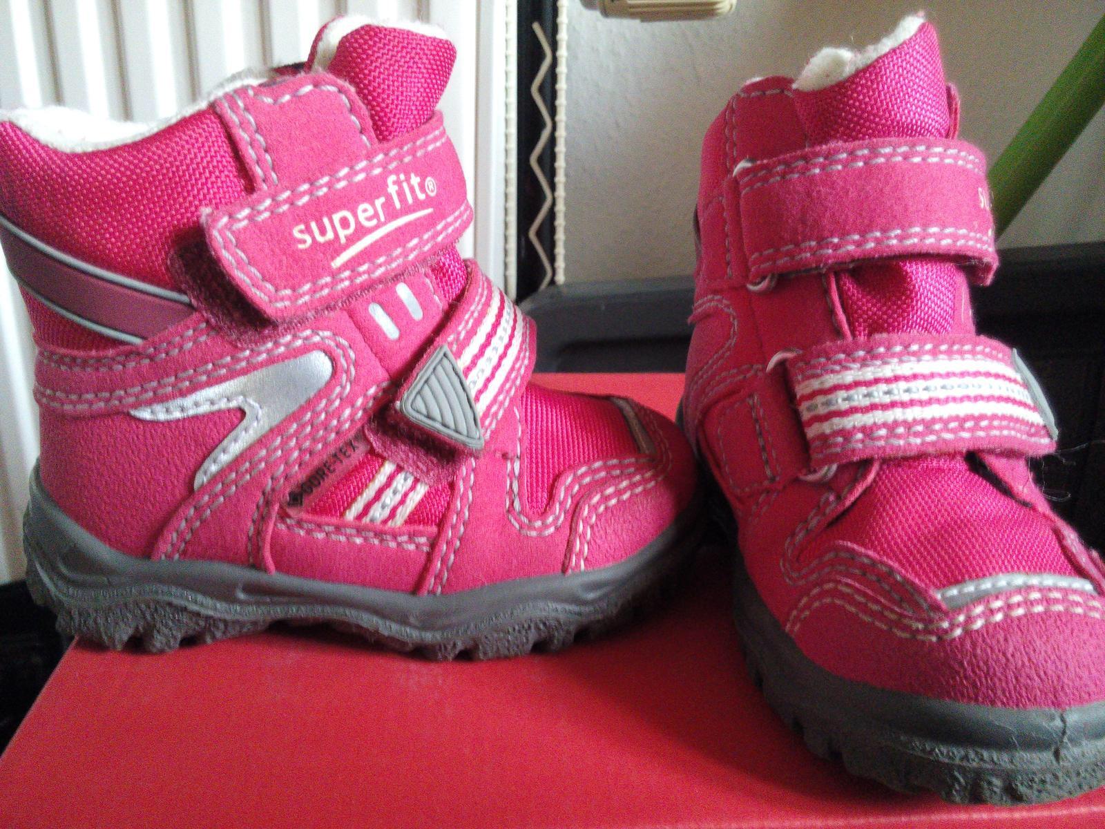 Zimní boty nepromokavé superfit - gore-tex d236f92991