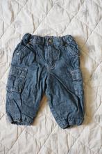 Zateplené džíny, h&m,74