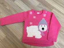 Růžový svetr s medvídkem, f&f,86