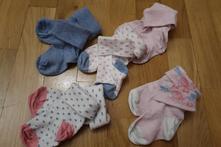 Dívčí ponožky 5 ks vel. 80 (6-12 měsíců), 19