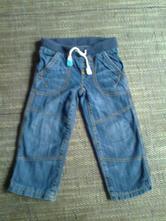 Vyteplené džíny vel 98, marks & spencer,98