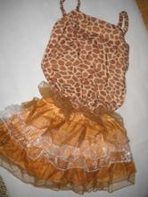 Maska kostým žirafa vel  s/m, m / s