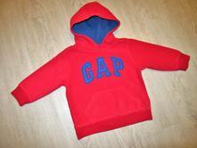 Červená mikina s kapucí, gap,92