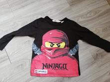 Triko dlouhý rukáv ninjago  h&m cena s poštou, h&m,104