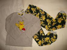 Pokemon oblek pyžamo domácí vel 8/9 128, 122 / 128