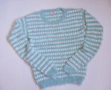 M339 dívčí svetr vel. 13-14 let, 158