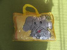 Deka, polštář a plyšový slon, 80,100