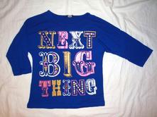 Bomba modré tričko od nextíku, next,128