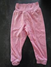 Semišové kalhoty, tepláky v. 74/80, lupilu,80