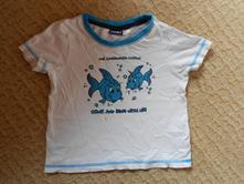 Tričko s rybičkami, lupilu,92
