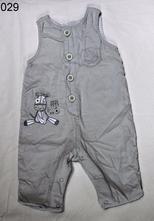 Laclové kalhoty šedý manšestr , f&f,56