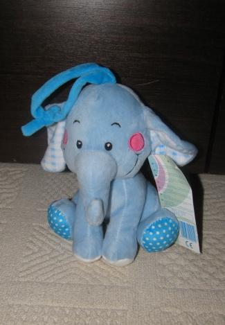 Nepoužívaný závěsný hrající slon,