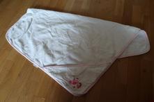 Bílý froté ručník babydream,
