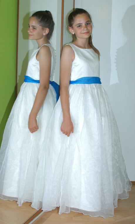 Dlouhé slavnostní společenské šaty družička, 158