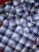 Košile s roll up rukávy, 152