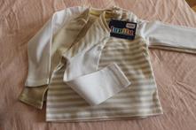 Set 3 triček s dlouhým rukávem lupilu, lupilu,80