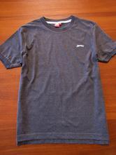 Šedé chlapecké triko vel 158-164, slazenger,164
