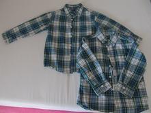 2x košile 104-110, dvojčata, 110