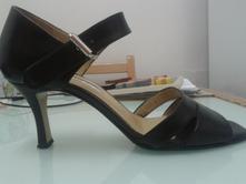 Kožené letní boty vel.38 zn. deska, 38