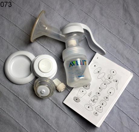 Odsávačka mateřského mléka manuální ,