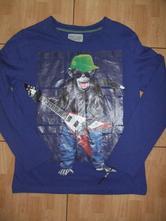 Modré triko dj ape, cherokee,152