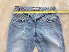 Světlé letní džíny na donošení, velikost 36-38, quiksilver,s