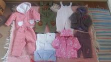 Balík oblečení na holčičku 6 - 9 měsíců.,