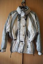 Bílo-stříbrná lyžařská zimní bunda, s