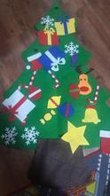 Vánoční stromeček filcový,