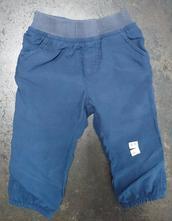 Kalhoty s bavlněnou podšívkou, baby club,74