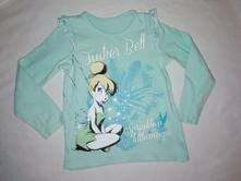 Bavlněné tričko disney zvonilka, disney,110