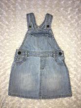 Modré riflové/džínové šaty f&f, f&f,92