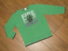 S.oliver - krásné triko s hasičem vel.104/110 , s.oliver,110