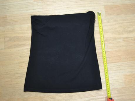 Tílko bez rukávů černé, h&m,m