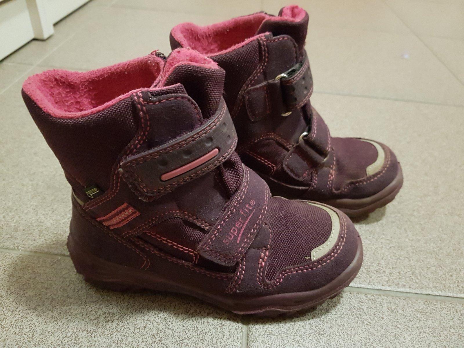 Dívčí zimní boty superfit vel. 27 34f66f3964