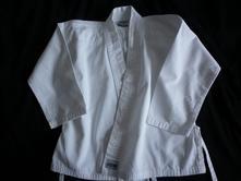Vel. 116 bílý kabátek od kimona,