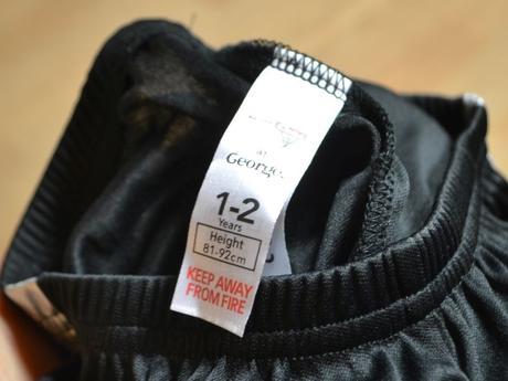 Kalhoty lesklé černé mcqueen, george,86