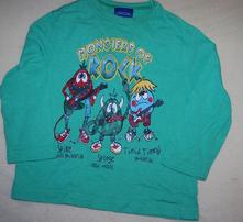 Zelené tričko s monsters vel. 86, cherokee,86