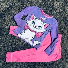 Krásné pyžamo s kočkou marií, disney,92