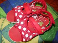 Červené puntík sandálky, next,28